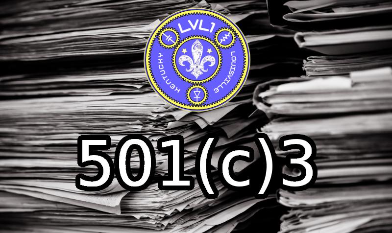LVL1 501(c)3 Header