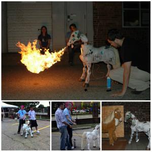 Butterscotch Fire Breathing Pony